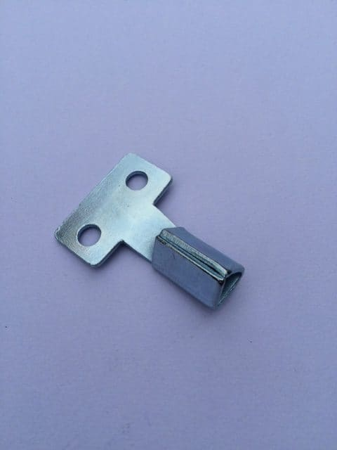 Short Metal Meter Key