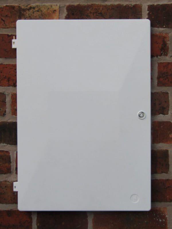 Standard electricity meter door