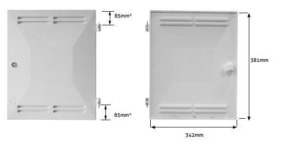 mk2 gas door measurements