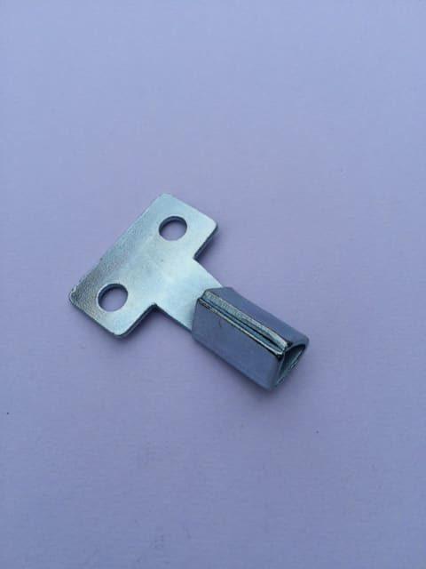 Short Metal Meter Key
